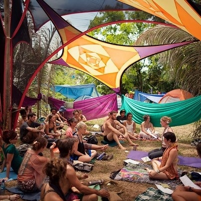 I loved being co-lead for our Healing Sanctuary at the Envision Festival -